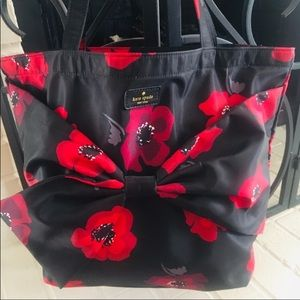 "Kate Spade Floral Tote 15"" x 12"""